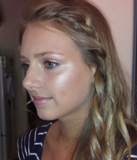 formals hair and makeup
